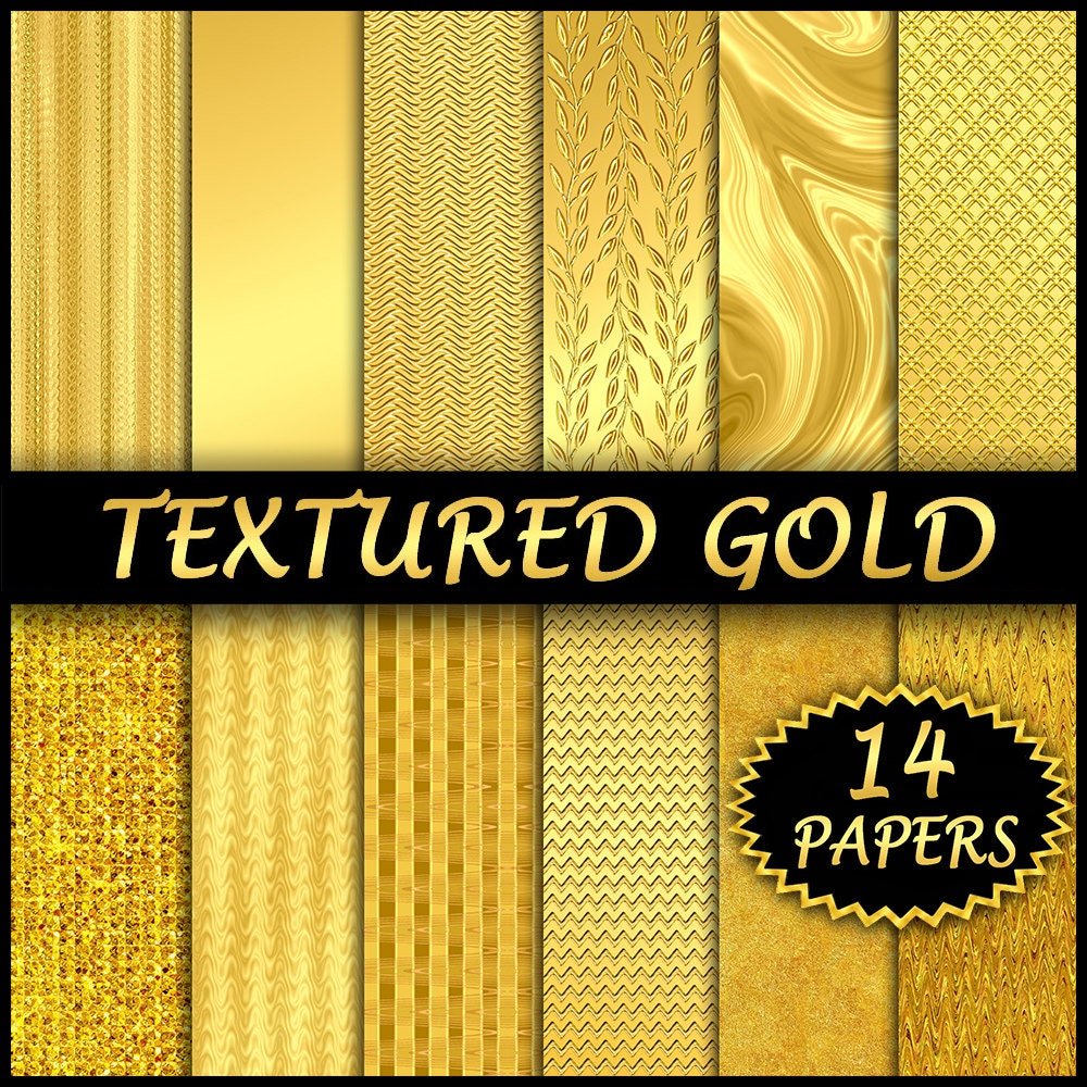 gold foil backgrounds textured gold digital paper gold leaf. Black Bedroom Furniture Sets. Home Design Ideas