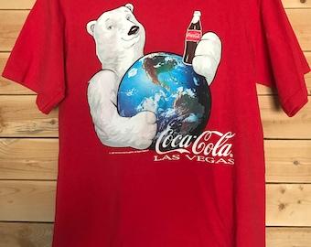 Coca-Cola Shirt // Vintage Coca-Cola Shirt // Vintage Coca-Cola Polar Bear