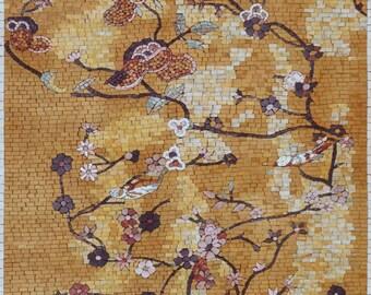 Japanese Mosaic Pattern - Floral