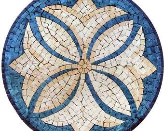 Decorative Mosaic Rondure - Otelles