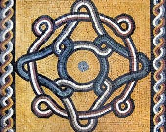 Romanesque Mosaic Square - Gala II
