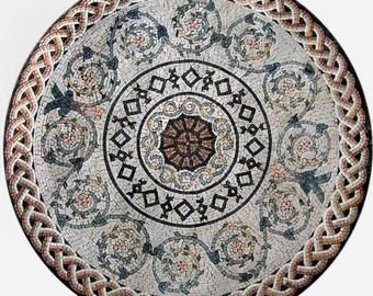 Roman Geometric Rondure - Vivian