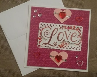 LOVE Valentine Card