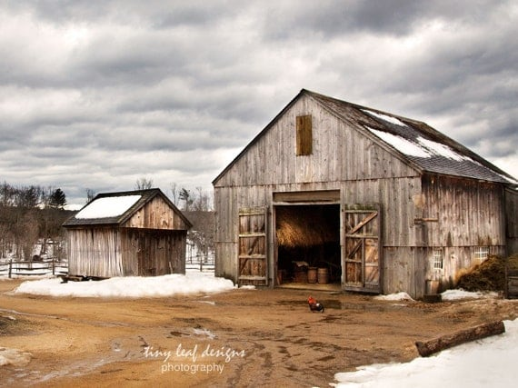 Sturbridge MA Winter Scene Original Photography
