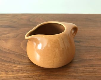 Iroquois Casual China Creamer in Ripe Apricot by Russel Wright