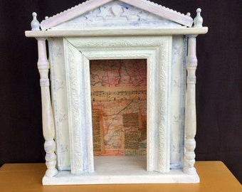 Shrine Temple Style Nicho Altar Cottage Chic Home Decor
