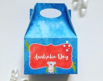 Australia Day treat boxes