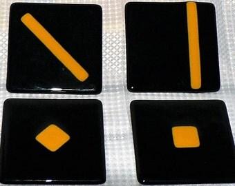 Handmade Fused Glass Coasters