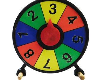 Prize Wheel 4 in Mini Desktop Spinner Free Shipping