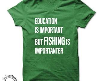 Fathers Day Fishing shirt teacher shirts fisherman funny gift mens womens ice fishing outdoors camping school birthday shirt- a283