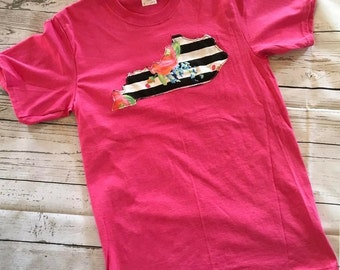 Kentucky Floral Raggy Shirt