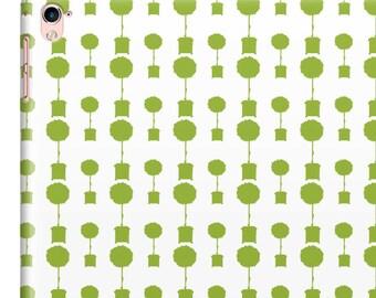 Green Patterned iPad Mini Sleeve, Slim Fit iPad Book Case, Topiary Silhouette iPad Mini Hard Case, Gardeners iPad Mini Cover