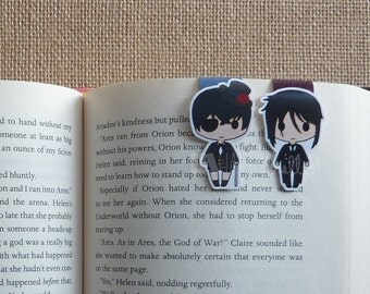 Magnetic Bookmarks • A Boy & His Butler