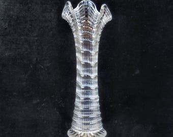 Northwood Clear Swung Vase