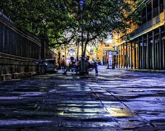 Art Print - Jackson Square New Orleans, Louisiana Photography - Wall Art, Nature Print, Home Decor, Art Photography, Print, Wall Picture