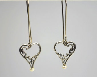 You Hold My Heart Earrings