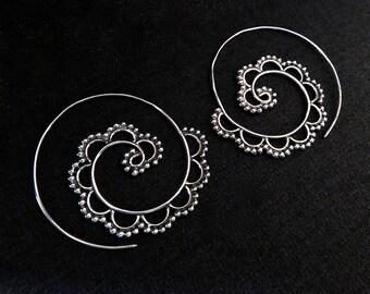 """Hoop earrings """"Mysore"""""""