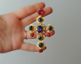 Ear-crosses Dolce style  - Byzantine Mosaic