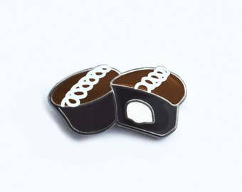 Chocolaty Cupcake Pin