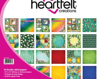 "Heartfelt Creations Tropical Paradise Paper Collection 12"" x 12"" HCDP1-277"