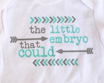 IVF baby onesies shirts babygrows, miracle baby onesies, onesie set, IVF shirt, baby shower gift, ivf child shirt