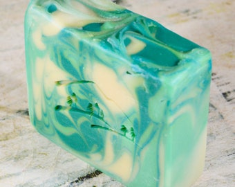 Clover and Aloe Handmade Soap, Goat Milk Soap, Coconut Milk Soap, Shea Butter Soap, Silk Soap, Homemade Soap, Handcrafted Soap, Natural Soap