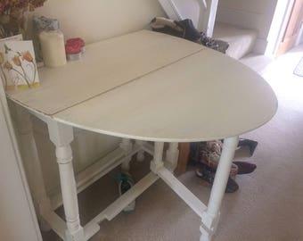 shabby chic style folding table