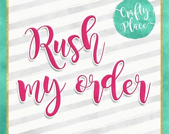 Rush my order - Photo booth frames