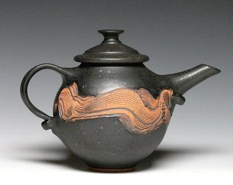 Hand Thrown Teapot, Pottery Teapot, Stoneware Teapot, Ceramic Teapot, Small Teapot