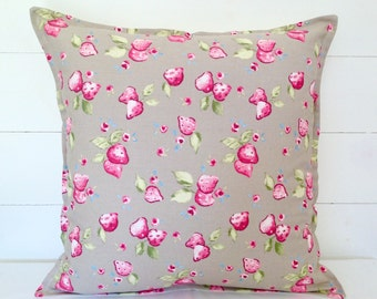 Strawberries Cushion Cover, Strawberries Pillow Case, Strawberries
