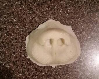 Bear nose prosthetic (slip latex)