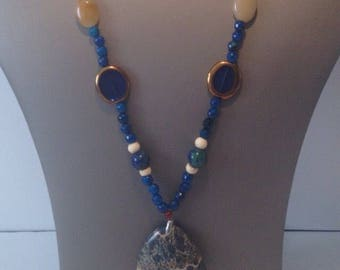 Blue Jasper necklace