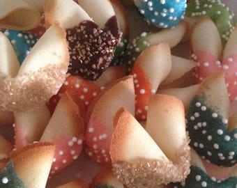 Dipped Fortune Cookies