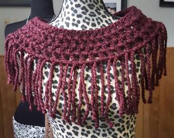 Fringe scarf, fashion scarf