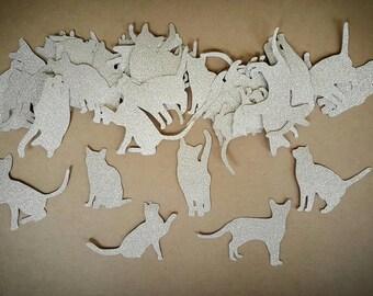 Kitty Confetti, Cat Confetti, Kitten Confetti, Kitties, Cats, Kittens, Kitty Party, Cat Party, Kitten Party, Kitty Birthday, Meow, Cats