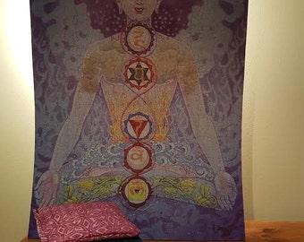 Mindful Living Chakra Sachets- Set of 7