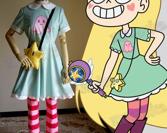 Star vs. The Forces of Evil Cosplay, Star Butterfly Dress Set