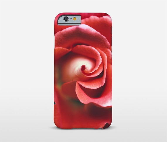 Rose Phone Case, Red Rose Art, iPhone 6 Case, Floral Phone Case, Macro Photography, Galaxy S7 Edge and more