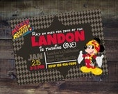 Print or Digital | Mickey Roadster Racers Invitation | Birthday Party | Thank You | Customizable