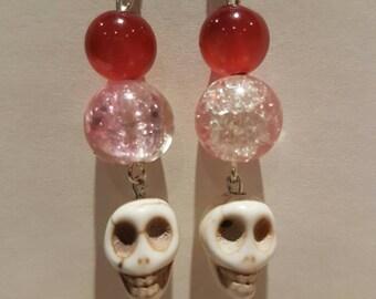 Skull Candy ear rings