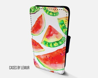 WATERMELON Wallet Case For Samsung Galaxy S8 Wallet Case For Samsung Galaxy S8 Leather Case For Samsung Galaxy S8 Leather Wallet Case For S8