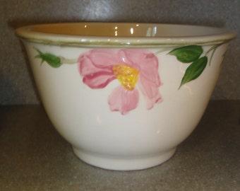 Vintage Franciscan Desert Rose Small Mixing Bowl