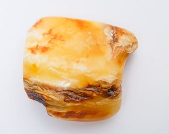 New, 74 gr Large Huge Genuine Natural Baltic Amber Gemstone, stone inclusions  (DZ)