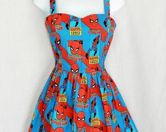 Marvel Spiderman dress.