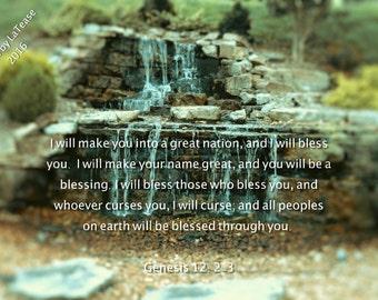 Genesis 12: 2-3