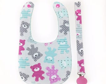 Bib and Pacifier SET
