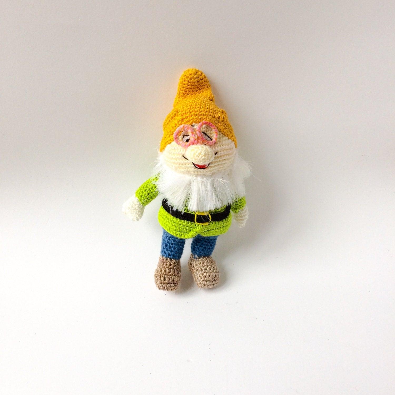 Baby Gnome: Gnome Toy Gnome Baby Rattle Gnome Crocheted Doll Amigurumi