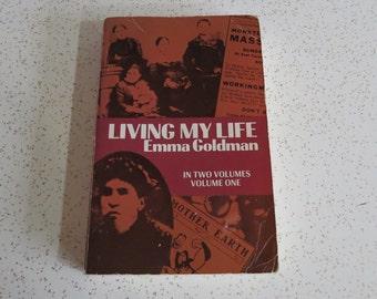 Living My Life by Emma Goldman Volume One Autobiography - Paperback
