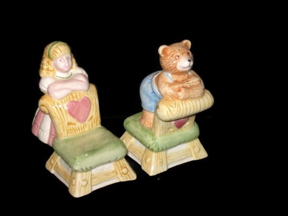 Vintage s p shakers Etsy