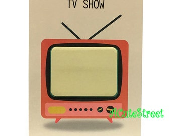 TV Post IT Notes Sticky Memo SM082824